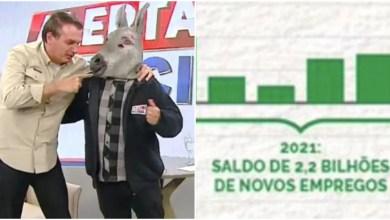 Photo of #Brasil: Governo Bolsonaro transmite fake news e diz que criou 2,2 bilhões de novos empregos