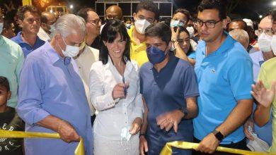 Photo of #Chapada: Ao lado de ACM Neto, a prefeita de Morro do Chapéu inaugura obras e presta contas da gestão