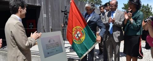 Ministro na inauguração oficial daPrimeira Posição da Batalha de Aljubarrota