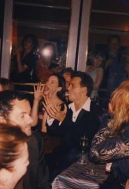 Johnny Depp e Liv Tyler