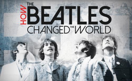 documentário beatles no netflix how the beatles changed the world