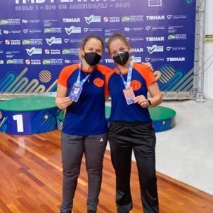 Daniela Bassi e Leiriadine Castro conquistam medalhas na Copa do Brasil no Rio de Janeiro