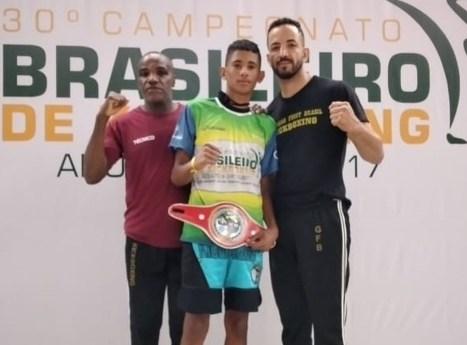 foto04 Araraquara no pódio do Brasileiro com Carlos Gabriel, Rodrigo Pereira e o mestre Nildão