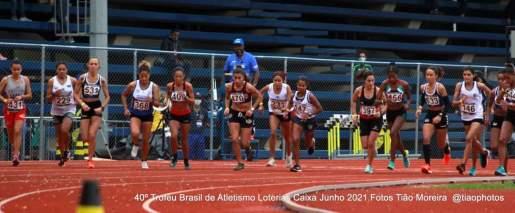 Milena Andrade, numero 470, disputa o Troféu Bandeirantes