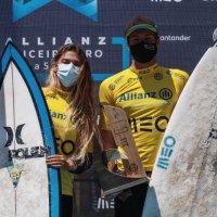 Surf   Afonso Antunes (Ericeira Surf Clube) e Carolina Mendes vencem o Allianz Ericeira Pro