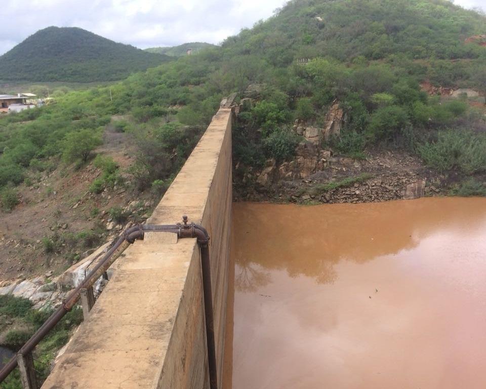 Image result for açude cachoeira serra talhada