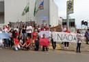 Alunos de Pinhão protestam contra a MP 746