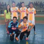 Equipe campeã futsal masculino B - Júlio