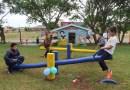 Escola Pedro Siqueira inaugura Parque Infantil Temático
