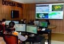 Defesa Civil já enviou 33 alertas meteorológicos via sms