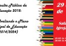 PINHÃO: Plano Municipal de Educação será avaliado