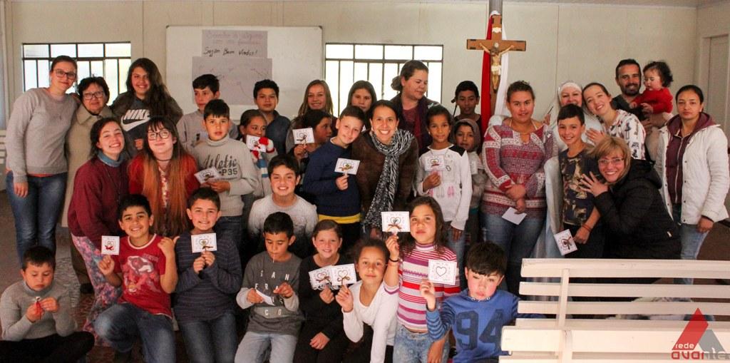 Menino Deus, uma ação  para formação e evangelização