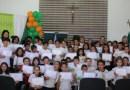 Mais de 90 crianças participaram de Um Olhar Para o Futuro