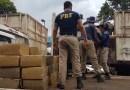 PRF apreende 51 toneladas de drogas em 2018 no Paraná