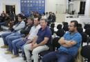 Vereadores de Reserva do Iguaçu visitam a Câmara Municipal de Pinhão