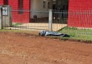Pinhão  inicia a semana com mais um homicídio