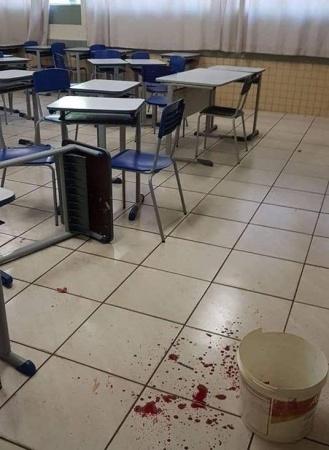 Professor é esfaqueado por aluno em escola estadual no interior do Paraná
