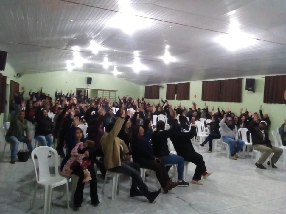 Pinhão: Funcionários Públicos Municipais aprovam em assembléia indicativo de greve