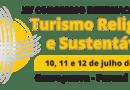 Congresso Internacional de Turismo Religioso Sustentável terá rodada de negócios e projeto jovem