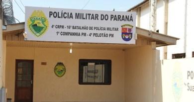 Sede do 4º Pelotão da Policia Militar de Pinhão  