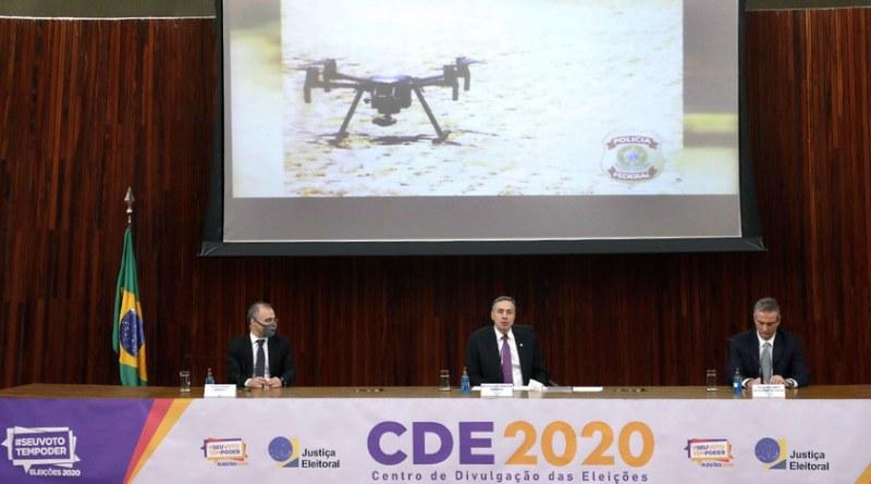 Uso de Drone nas eleições 2020