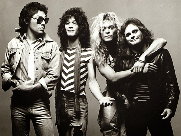 O Van Halen está entre as bandas de hard rock