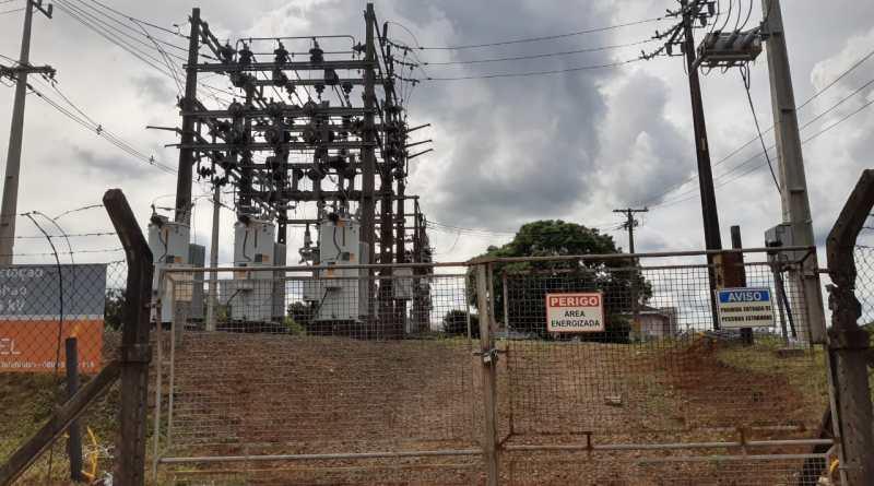 subestação de energia