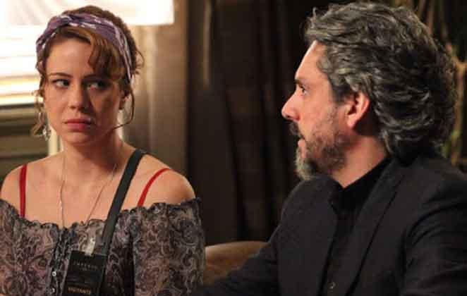 Cristina conta a josé Alfredo que é filha de Eliane