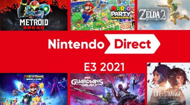 Nintendo na E3 2021