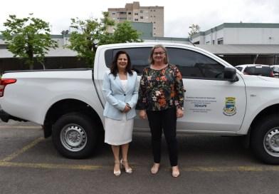 Secretaria de Meio Ambiente de Sapiranga recebe veículos zero quilômetro