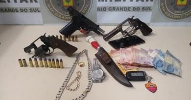 32° BPM prende autores de latrocínio em Sapiranga