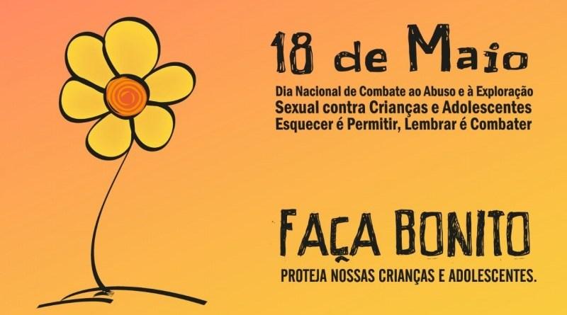 Ações no mês de maio combatem violência sexual contra crianças e adolescentes