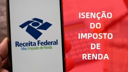 Pedido de isenção de imposto de renda