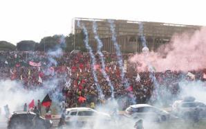 O povo contra a PEC 55, a polícia contra o…