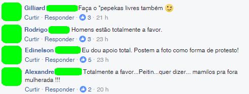comentários Mamilaço #MamiloLivre