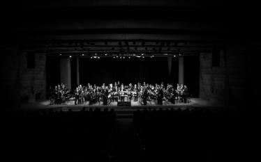 Apresentação da Banda Sinfônica no auditório do MASP, em homenagem ao Dia da Consciência Negra. 13/11/2016. Foto: Julian Lepick / Reprodução Facebook @bandasinfonicasp