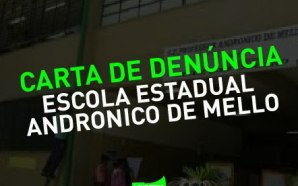 CONTRA OS FECHAMENTOS DE SALAS DE AULA