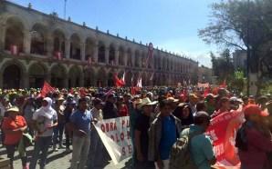 Peru também luta por direitos trabalhistas