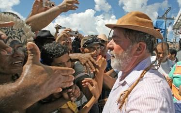 Lula inicia caravana pelo nordeste