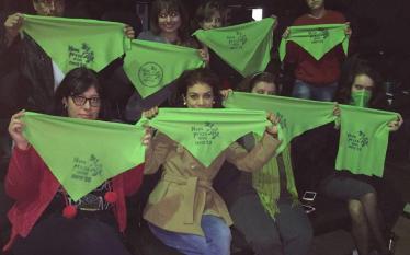 Lideranças feministas fazem atos de apoio à descriminalização do aborto…