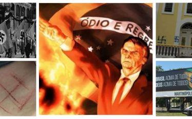 NAZISMO ESCANCARA SUA AMEAÇA: Slogan de Bolsonaro é tradução literal…
