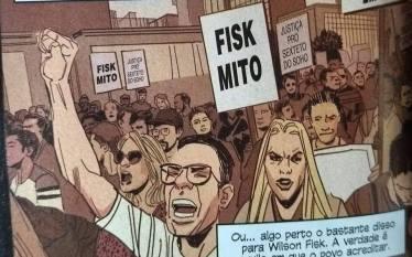 """Edição nacional do Demolidor associa """"Mito"""" com vilão"""