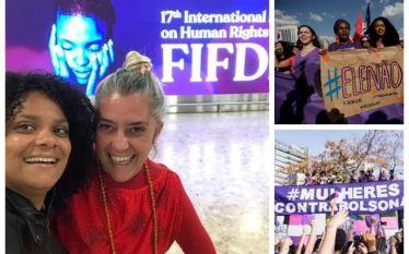 Mulheres Unidas Contra Bolsonaro denunciam à ONU violação de direitos…