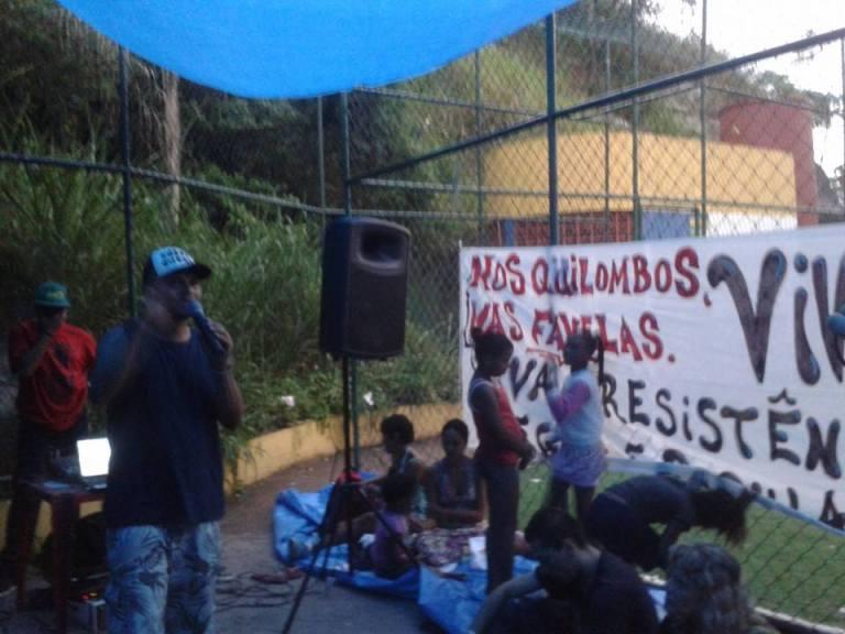 Dia da Consciência Negra no Santa Marta