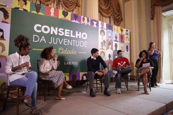 Evento de lançamento do Conselho contou com jornalistas, gestores municipais e ativistas. Foto: Raphael Lima/PCRJ. Do site Fotos Públicas.