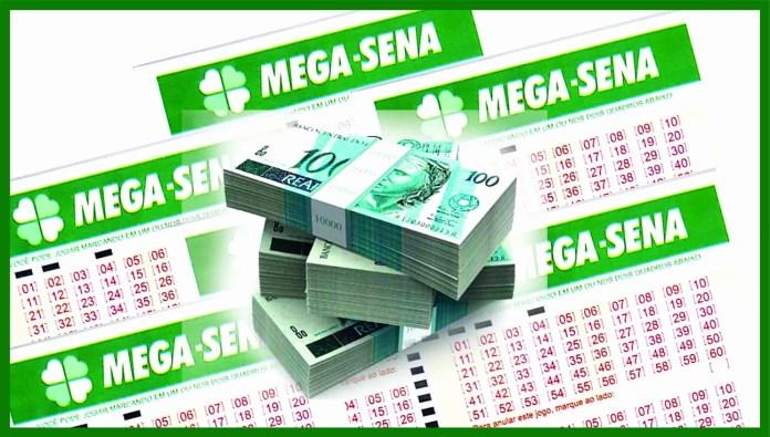 Resultado da Mega-Sena / imagem : Ueslei Mendes de Souza