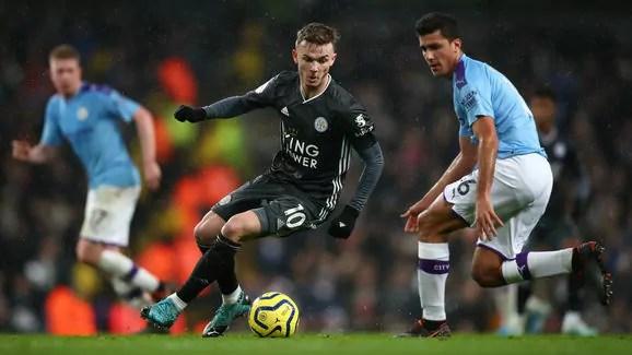 Leicester e City estão separados por quatro pontos. Crédito: Clive Brunskill / GettyImages