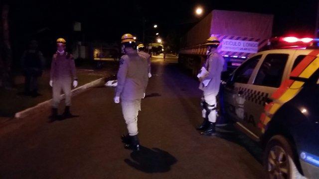 Bombeiros estiveram no local do crime e constataram o óbito. (Foto: Mutum Noticias)