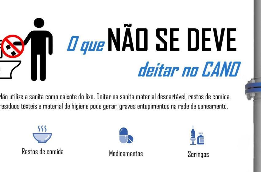 Vila de Rei: Município sensibiliza para bom uso das redes de saneamento