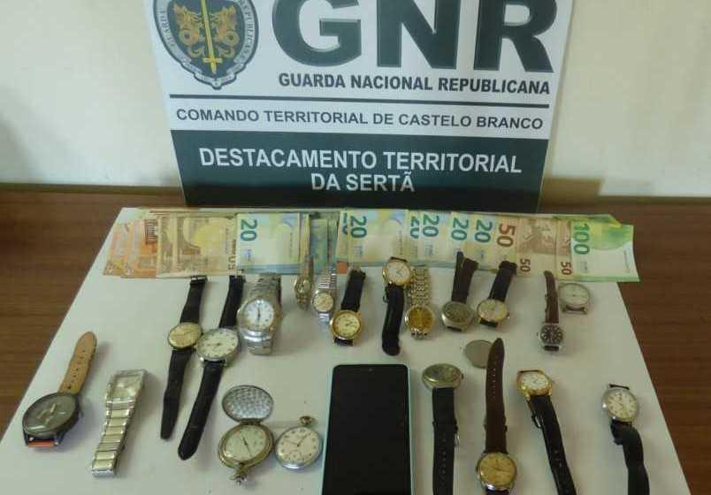 Região: GNR recupera material furtado em residências